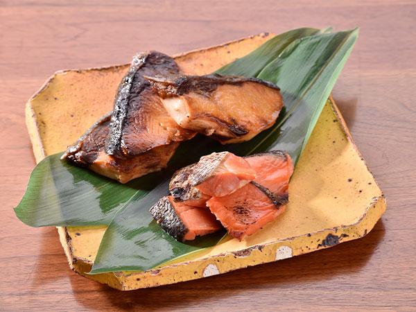 鰤塩焼き・鮭西京焼き